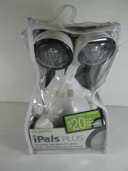2006 Plug & Play iPals Poseable Speakers (New in Package)