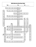 2009 - 2014 Pulitzer Prize for Fiction Winners & Finalists Crossword with Key