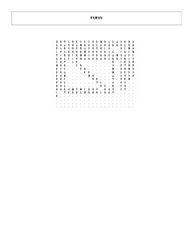 2009 - 2014 Pulitzer Prize for Fiction Winners & Finalists Word Search with Key