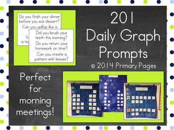 201 Daily Graph Prompts