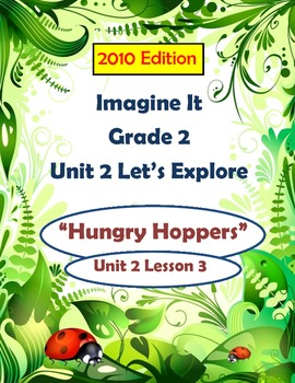 2010 Edition Imagine It Grade 2 Unit 2 Lesson 3 Hungry Hoppers Pack