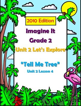 2010 Edition Imagine It Grade 2 Unit 2 Lesson 5 Tell Me Tree Pack