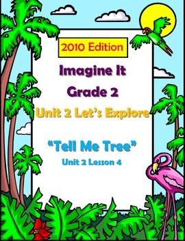 2010 Edition Imagine It Grade 2 Unit 2 Lesson 5 Tell Me Tree Pack