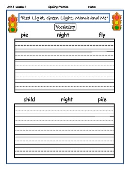 2010 Edition Imagine It Grade 2 Unit 3 Around of the Town Spelling Activities