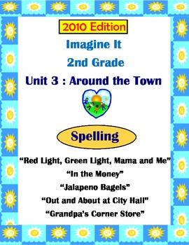 2010 Edition Imagine It Grade 2 Unit 3 Around of the Town