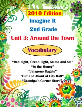 2010 Edition Imagine It Grade 2 Unit 3 Around the Town Vocabulary Activities