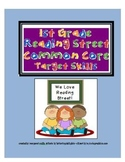 2011 First Grade Reading Street Target Skills Units 1-5