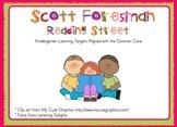 2011 Kindergarten Reading Street Unit 1 Target Skills