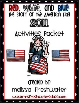 2011 Reading Street 2nd Grade Unit 6.2 Red, White, & Blue Supplemental Pack
