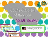 2011 South Carolina Social Studies Standards for Fourth Grade I Can Statements