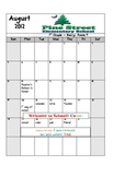2012-2013 Calendar of Themes and WORDS OF THE DAY