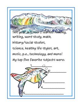 School Year Class Autograph Book