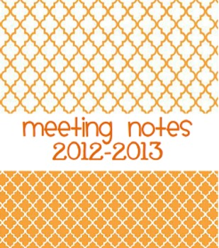2012-2013 Teacher Binder Covers
