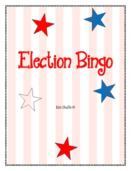2012 Election Bingo