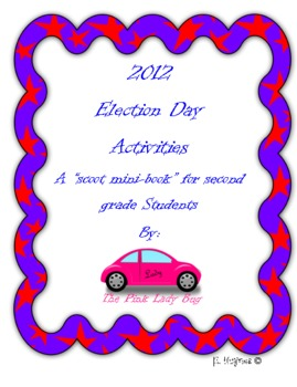 2012 Election Day Activities - Election Day Scoot for primary grades