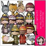 Nativity clip art 2012 - Bobbleheadz - COMBO PACK - by Melonheadz