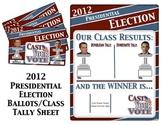 2012 Presidential Election Ballots/Classroom Tally