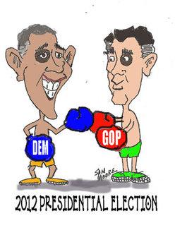 2012 Presidential Election Cartoon