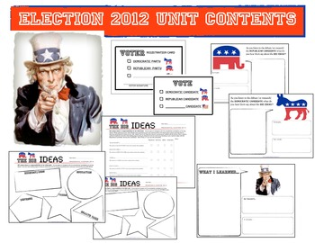 2012 U.S.A.  Election Unit: Elementary