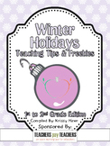 2012 Winter Holidays Tips and Freebies: 1-2 Grade Edition