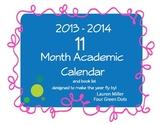 2013 -14 Academic Calendar