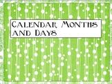 2013-14 Calendar and Classroom Labels