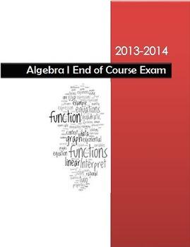 2013-2014 Algebra I End of Course Exam