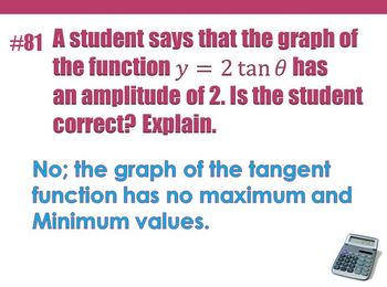 2013-2014 Algebra II Priority Concept Quiz Problems