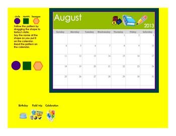 Calendar: All Year Routine 2013 2014