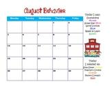2013-2014 Clip Chart Behavior Logs for Student Folder Use