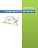 2013-2014 Geometry End of Course Exam