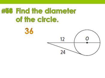 2013-2014 Geometry Priority Concept Quiz Problems