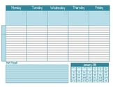 2014-2015 Plan Book Pages