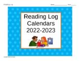Year-long Reading Log Calendars