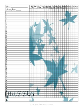 Sanity Saver: Ultimate Grade Book (Artsy Blues)