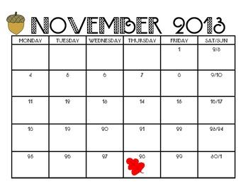 2013 - 2014  School Calendar