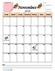 2017-2018 School Year Calendar - Portrait {FREEBIE}