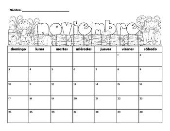 2013-2014 Spanish Calendars