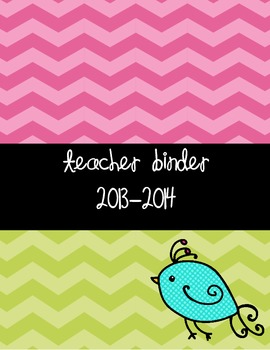 2014-2015 Teacher Binder