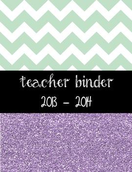2014-2015 Teacher Binder