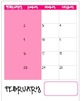 2013-2014 Teacher Binder Calendar