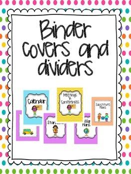 2014-2015 Teacher Binder- EVERYTHING included!