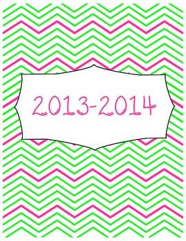 2013-2014 Teacher Calendar