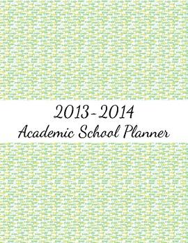 2013-2014 Teacher Planner
