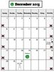 2013-2014 Visual Monthly Calendars for Children with Autism
