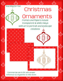Christmas Ornament Clipart and Paper