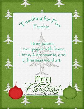 2013 Christmas Tree Clipart