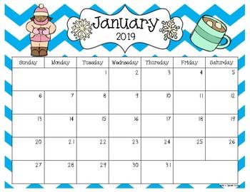 2017 editable calendar