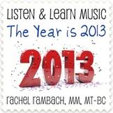 2013: Educational Song (MP3 + Instrumental Track + Lyrics/Chords)