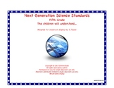5th Fifth Grade Understand Next Generation Science Standards NGSS Posters
